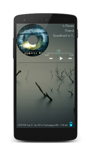 Tranqil for Zooper Widget