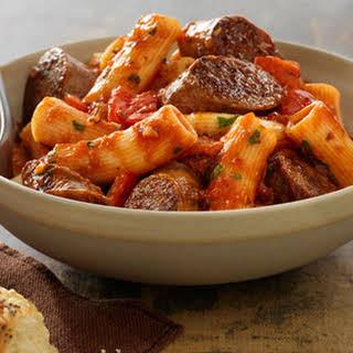 Italian Sausage Rigatoni.