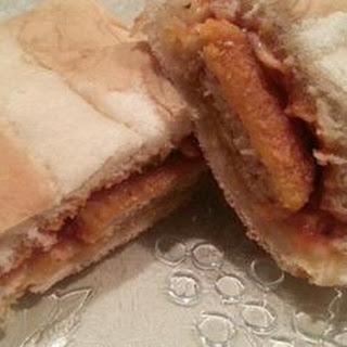 Easy Chicken Parmesan Sandwich.