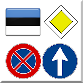 Estonian road signs