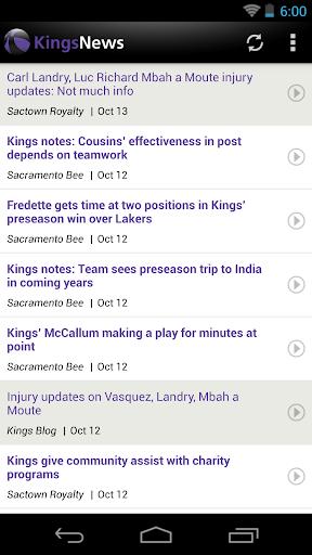 Sacramento Basketball News for PC