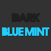 Dark Blue Mint CM10.1 /AOKP