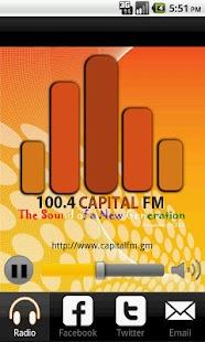 CapitalFM Gambia - screenshot thumbnail