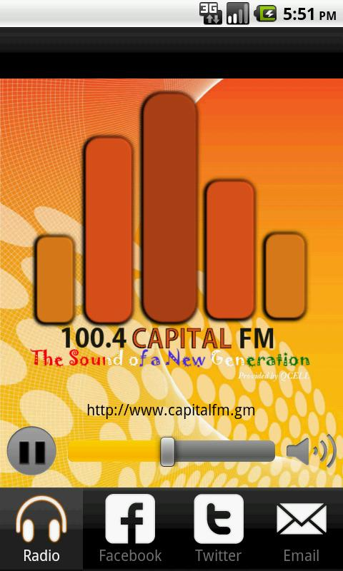 CapitalFM Gambia - screenshot