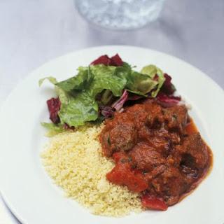 Mediterranean Braised Lamb & Couscous.