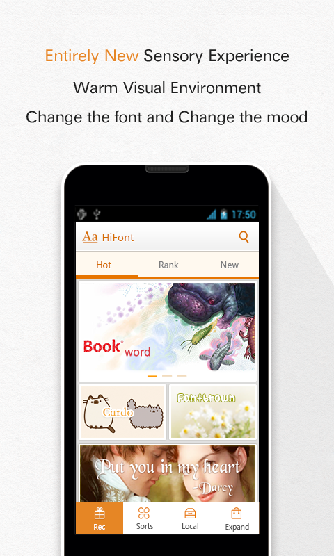 HiFont(Fonts For Android) - screenshot