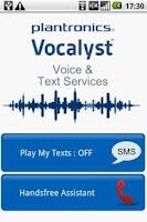 Screenshot of Vocalyst SMS Reader