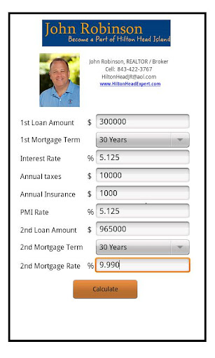 John Robinson's Mortgage Calc