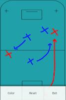 Screenshot of Floorball Tactic Board