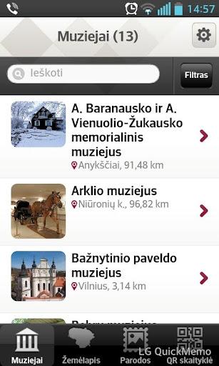 Lietuvos muziejų E. gidas