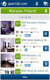 Apartment and Property Rentals- screenshot thumbnail