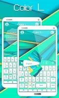 Screenshot of Color L GO Keyboard