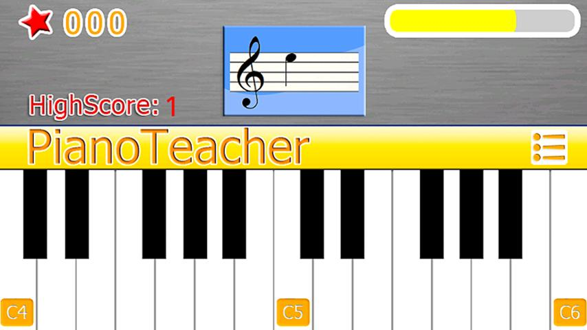 PianoTeacher Free Learn Chords- screenshot