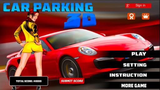 3D sports Car Parking Game