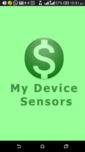 My Device Sensors