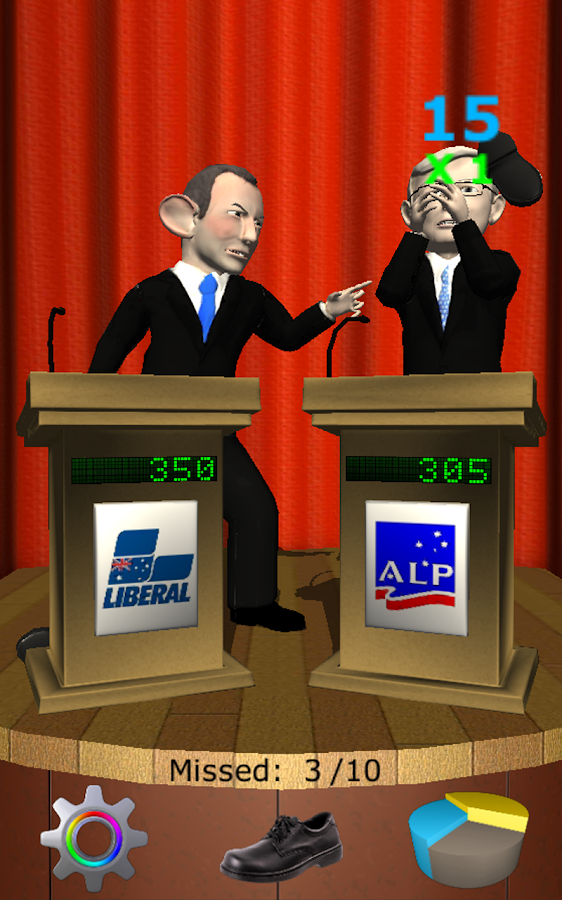 Abbott VS Rudd- screenshot