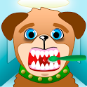 animal dentist games icon