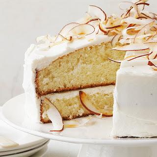Coconut Cream Cake.