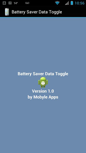 Battery Saver Data Toggle
