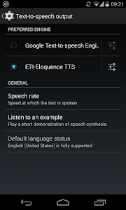 Eloquence Text To Speech v1.1.1