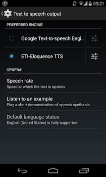 Eloquence Text To Speech
