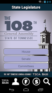 108th Tenn. General Assembly - screenshot thumbnail