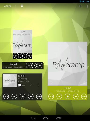 Widgets Kit for Poweramp  screenshots 11