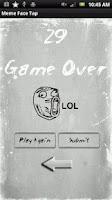 Screenshot of Meme Face Tap