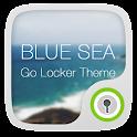 Blue Sea GO Locker Theme icon