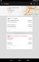 Screenshot of ezRide Pittsburgh Mass Transit