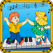 Baby piano. Free game