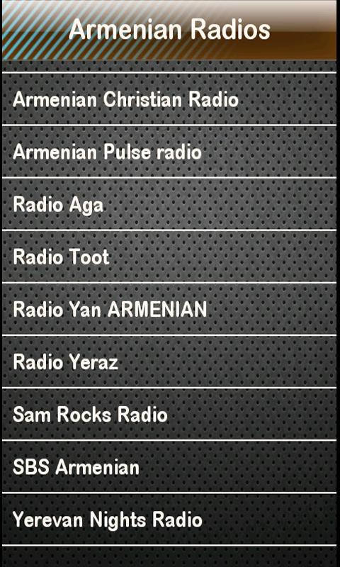 Armenian Radio Armenian Radios - screenshot