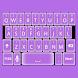 Soft Purple Keyboard Skin