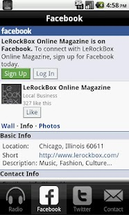 LeRockBox Radio- screenshot thumbnail