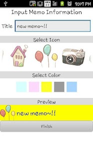 Cute memo- screenshot thumbnail