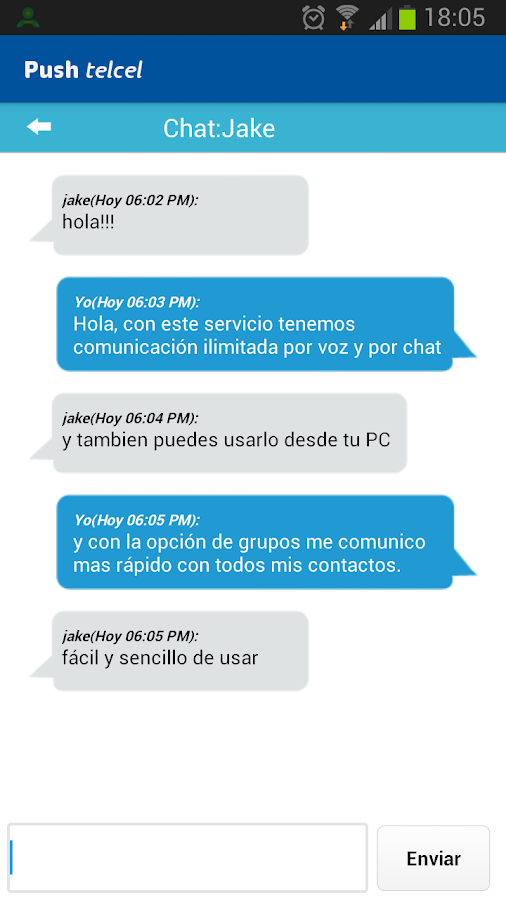 Push Telcel - screenshot