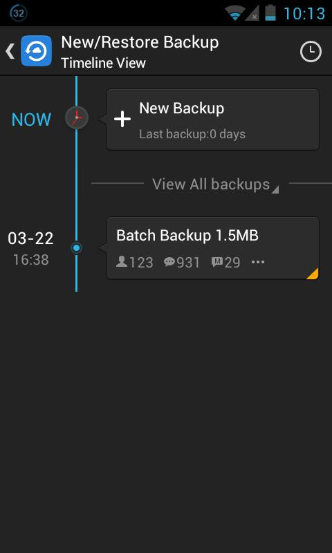 GO Backup & Restore Pro- screenshot