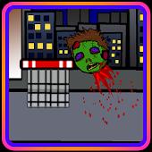 Shoot The Zombie Head Net Shot