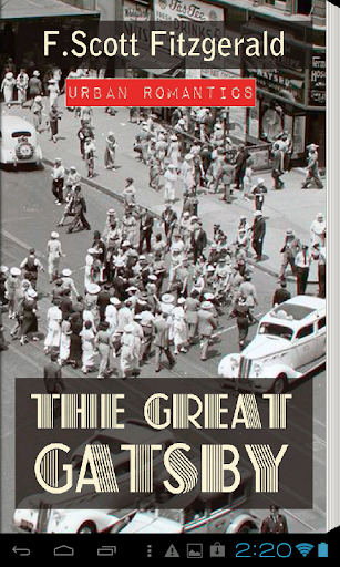 The Great Gatsby Book App