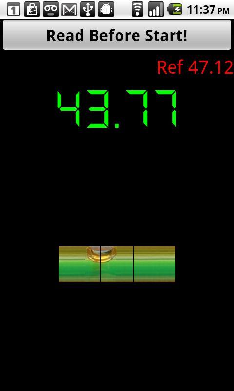 Magnetic Stud Finder - screenshot