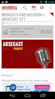 Screenshot of Arseblog (Official)