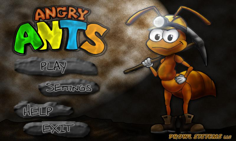 Angry Ants (Ant Farm)- screenshot
