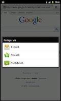 Screenshot of Shaarli