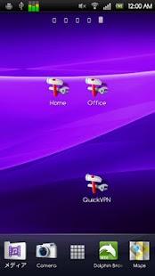 QuickVPN: miniatura de captura de pantalla