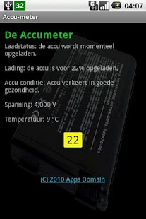 The Accu meter - screenshot thumbnail