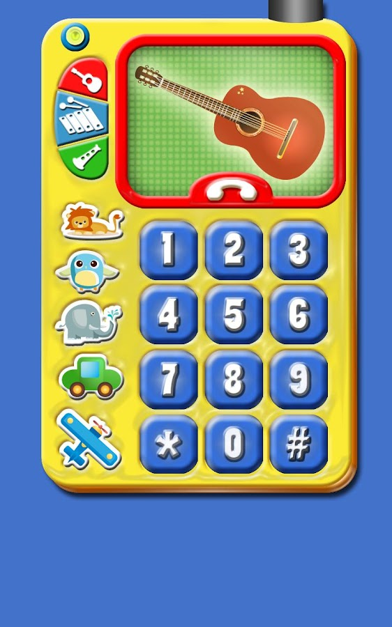 Baby Play Phone Game for Kids- screenshot