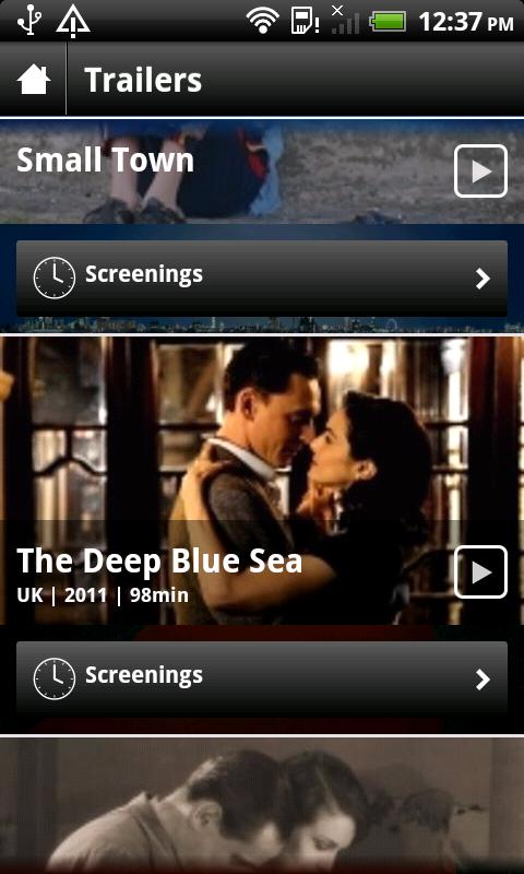 BFI London Film Festival 2011 - screenshot