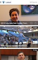 Screenshot of Columbia Lions