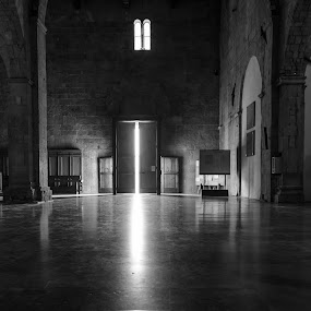 Holy Monochrome by Franco Beccari - Buildings & Architecture Public & Historical ( blackandwhite, church, black and white, cathedral, holy, light,  )