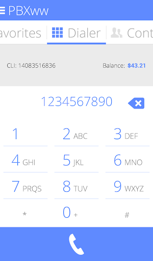 PBXww Mobile cloud PBX client